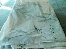 Croscill Everst Rainier Green Cream King Bedskirt & 2 King Shams Euc