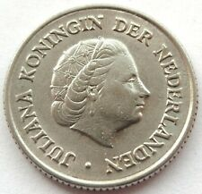 1951 NETHERLANDS 25 CENT QUEEN JULIANA