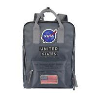 NASA US Nylon Shoulder Bags Backpack Travel School Bag Multifunction Fashion New