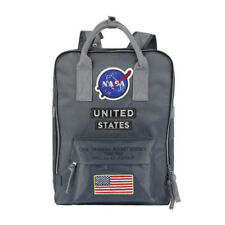 US NASA Backpack Nylon Shoulder Bags Travel School Bag Multifunction Fashion New