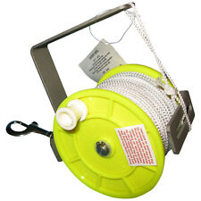 Large scuba diving reel with clip, handle and 250ft of line, Wreck, Cave, cavern