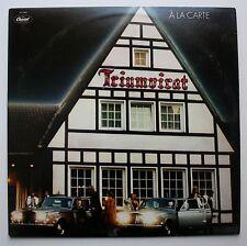 Triumvirat Capitol Prog Rock LP 1978