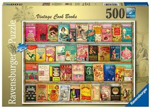Ravensburger - Vintage Cookbooks 500pc - Jigsaw Puzzle
