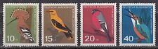 Deutschland / Germany Nr. 401-404** Einheimische Vögel