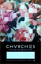 CHVRCHES Every Open Eye Ltd Ed Discontinued RARE Poster +FREE Indie Pop Poster!