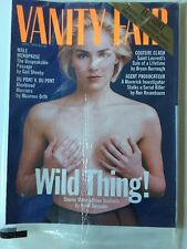 1993 April Vanity Fair - Sharon Stone NEW NOS