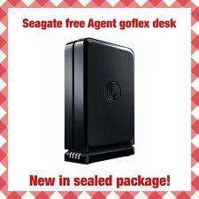 Seagate Free Agent GoFlex Desk w/ Replica Software USB 3.0 2.0 Windows Mac NEW