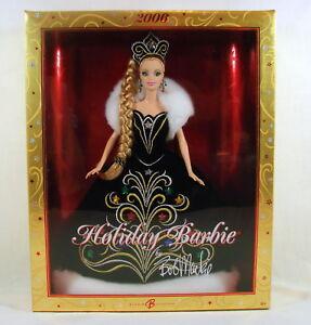 Barbie 2006 Bob Mackie Happy Holiday Barbie Collector NRFB