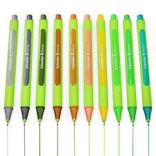 Schneider Line-Up Fineliner Pens - 0.4mm Needle Point - Earth Tones - 10 Pack