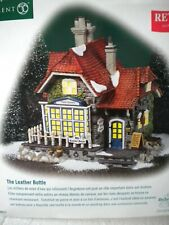 Dickens Village The Leather Bottle Retired, w box, original owner not displayed