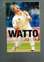 Watto by Shane Watson with Jimmy Thomson