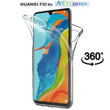 Cover Per Huawei P30 Lite New Edition Fronte Retro 360 Custodia Silicone Slim