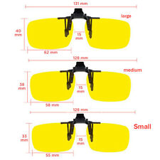 Unisex Polarized UV 400 Lens Clip-on Glasses Classical Outdoor Driving Glass Hot