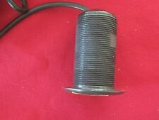Garmin Airmar P19 Thru Hull Mount 12* Tilted Element Transducer  P# 010-10218-21