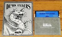 Demon Stalkers Commodore 64/128 With Manual Electronic Arts Micro Forte 1987
