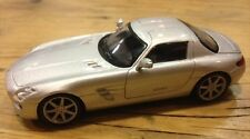 EF13 - Mercedes SLS AMG Silver - 1/43 Scale - New Bubble Pack - 1st Class Post