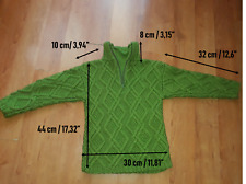 Hand-Knitted 100% Wool NEW Sweater Jumper