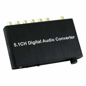 5.1CH Digital Audio Converter Decoder w/ Dolby AC-3/DTS Coaxial Toslink