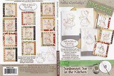 Anita Goodesign Sunbonnet Sue in the Kitchen Embroidery Machine Design CD