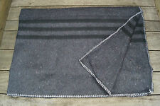 Biwakdecke anthrazit 200 x 150 cm Armeedecke Schlaf Decke Pferdedecke NEU