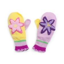 Promo kidorable tricot lotus mitaines enfants enfant fille fleur gants knitwear