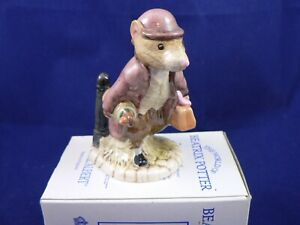 BESWICK BEATRIX POTTER ROYAL ALBERT JOHNNY TOWN MOUSE WITH BAG BP6a