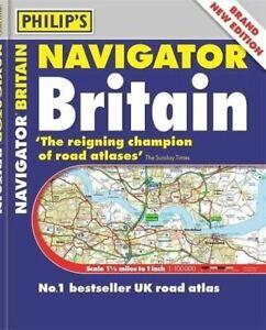 Philip's Navigator Britain: (Flexiback) by Philip's Maps