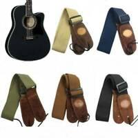 Adjustable Widening Folk Widening Electric Guitar Bass Adjustable Belt Strap 1Pc