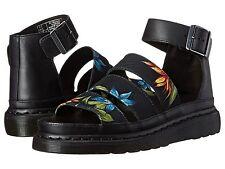Dr. Martens Women`s Clarissa Chunky Strap Sandal Black Hawaiian US 7 EU 38 UK 5