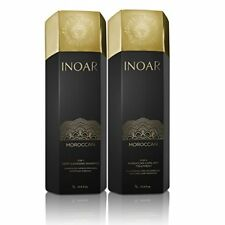 INOAR MOROCCAN BRAZILIAN KERATIN TREATMENT BLOWOUT HAIR STRAIGHTENING 1LITER KIT