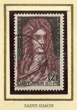 STAMP / TIMBRE FRANCE OBLITERE N° 1008 / CELEBRITE / LOUIS DE ROUVROY