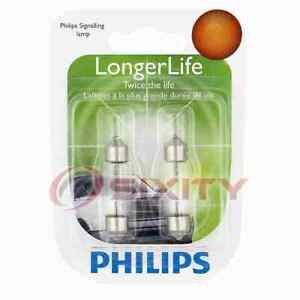 Philips License Plate Light Bulb for Jaguar Super V8 Vanden Plas XJ12 XJ6 ds
