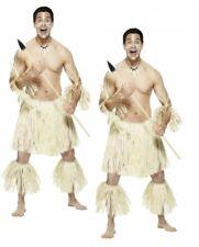 Zulu Warrior Herren Hawaii Kostüm Erwachsene Strand Party Kostüm
