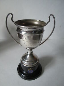 Margate and district car club cup.  Motorsport cup. rally award.