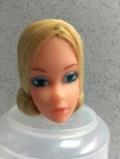 Vintage Barbie Doll QUICK CURL BARBIE FACTORY MINT HEAD from NRFB box of heads