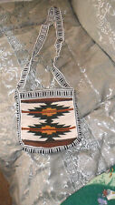 Woven Indian Design  SHOULDER PURSE- BAG- Nice- Free Shipping-