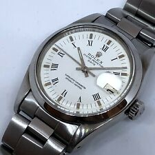 VINTAGE ROLEX DATE REF 1500 AUTOMATIC From 1979 GREAT SHAPE 34 MM