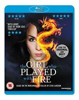 The Girl Who Played With Fire [Blu-ray] [2010] [DVD][Region 2]