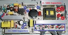 Zenith Z32LC2D TV Repair Kit, 125ºC and 105ºC Capacitors Included in this kit.
