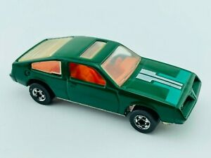 Hot Wheels LEO Blackwall PONTIAC J2000 Dk Green Stripe Tampo INDIA NM/M Minty !