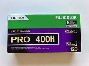 Fujifilm Fuji Pro 400H 120 Film Pack of 5