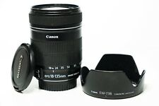 Canon EF-S 18-135mm f3.5-5.6 IS Image Stabilizer Zoom