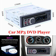 Car Radio Bluetooth Stereo Head Unit MP3/DVD/SD/AUX-IN/FM In-dash Player 1 DIN