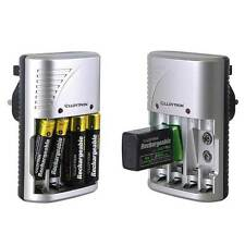 Lloytron Universal Multi Battery Charger For Rechargeable AA / AAA / 9V Battery