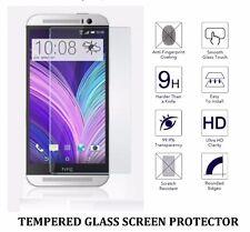 Protector de pantalla de Cristal Templado + Sintético Funda Gel para Htc One M8