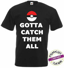 Pokemon Cotton Blend Short Sleeve T-Shirts for Men