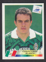 Panini - France 98 World Cup - # 369 Cuauhtemoc Blanco - Mexico