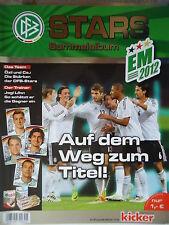 Sticker Stars Sammelalbum Fußball EM 2012 leer