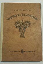 ROCHOWANSKI, Wiener Keramik. 1923 with aquarel Egon Schiele