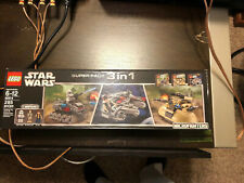 New Sealed Lego 66514 Star Wars Super Pack 3 in 1 Microfighters 2014